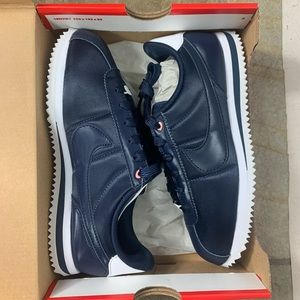NEW! Nike Cortez Basic Navy & Rose Sneakers